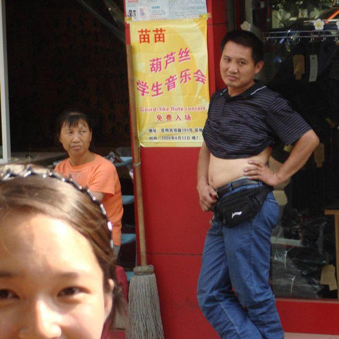 Бикини по-пекински у мужиков