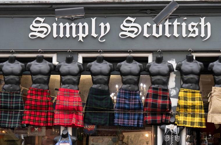 Происхождение обычая шотландцев носить юбки