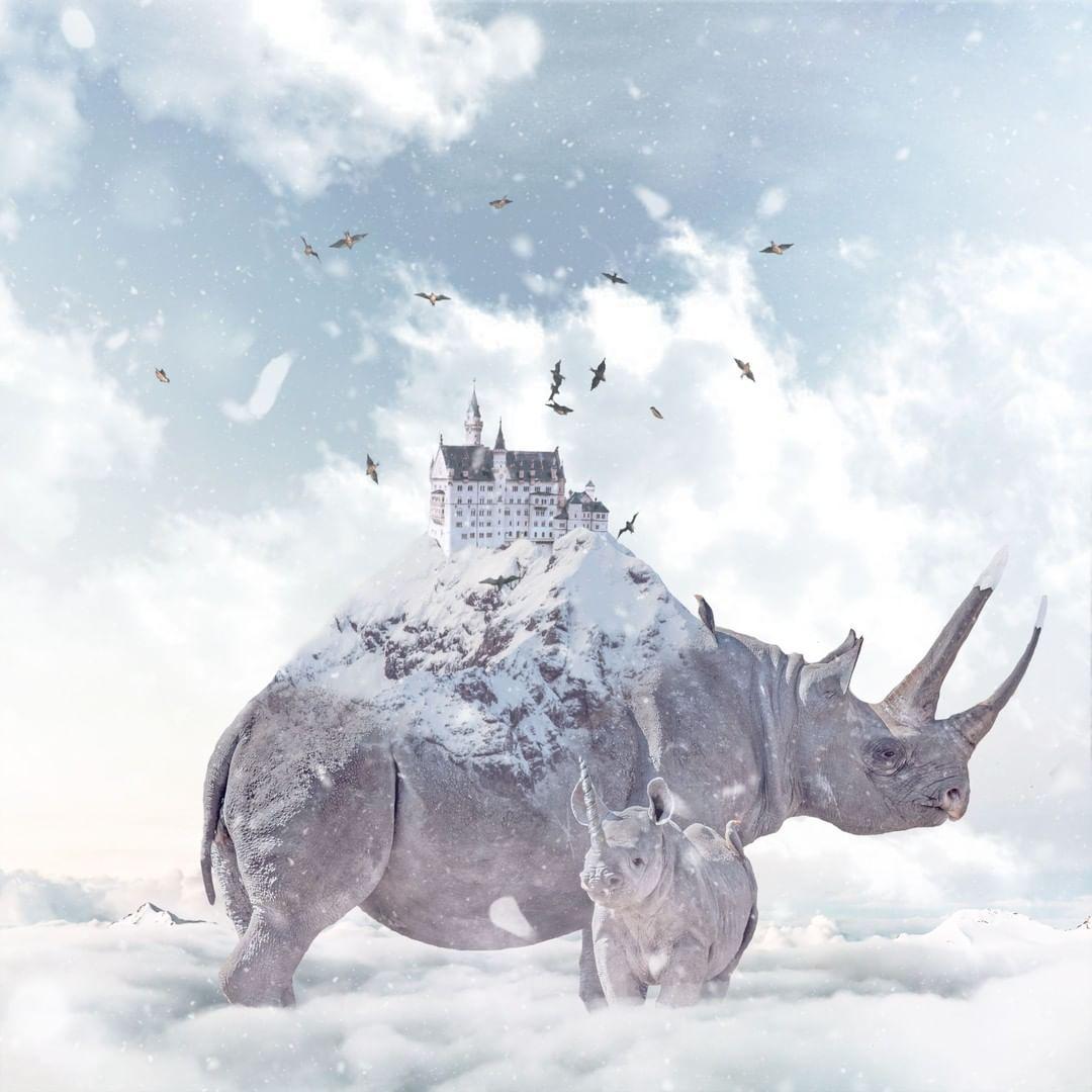Сказочные фотоманипуляции от Эвана Генри