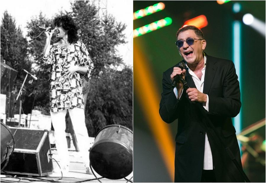 Российские звёзды в начале карьеры и сейчас