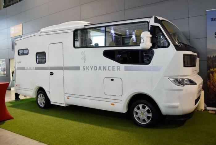 Skydancer Apero: первый дом на колесах с открытым верхом