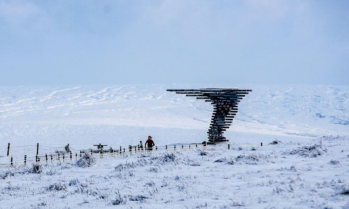 Снежная зима в Великобритании