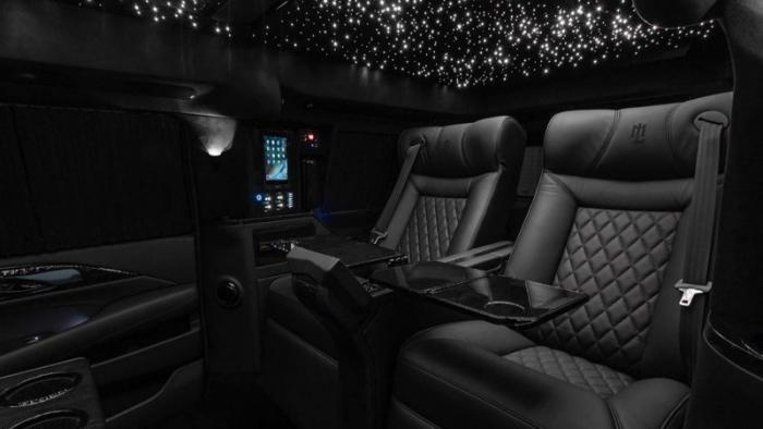 Cadillac Escalade превратили в роскошный лимузин