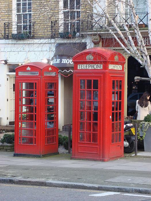 История красной телефонной будки в Великобритании