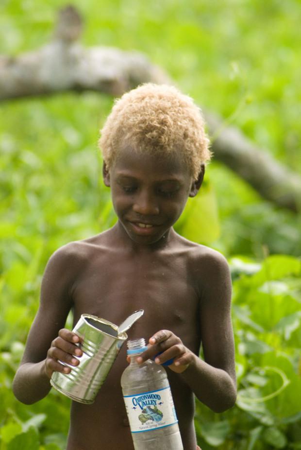 Каждый десятый темнокожий житель Меланезии — блондин