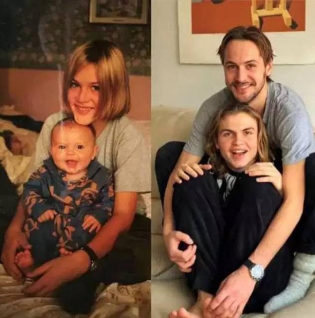 Люди воссоздают свои детские снимки