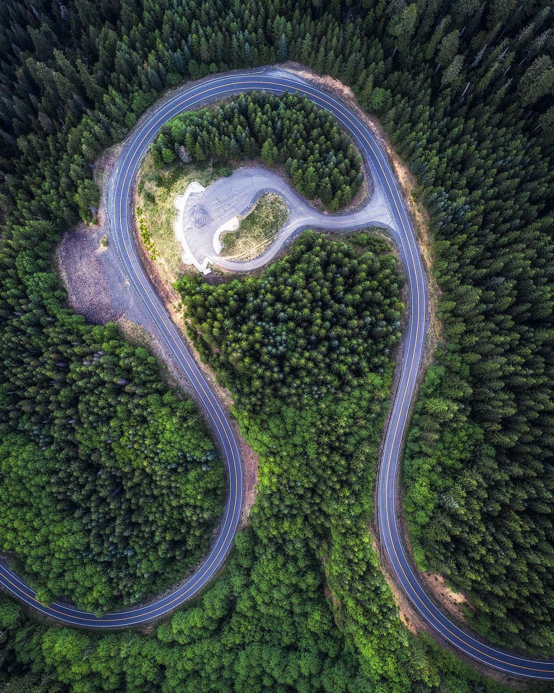 Пейзажи и приключения на аэрофотоснимках Майкла Матти