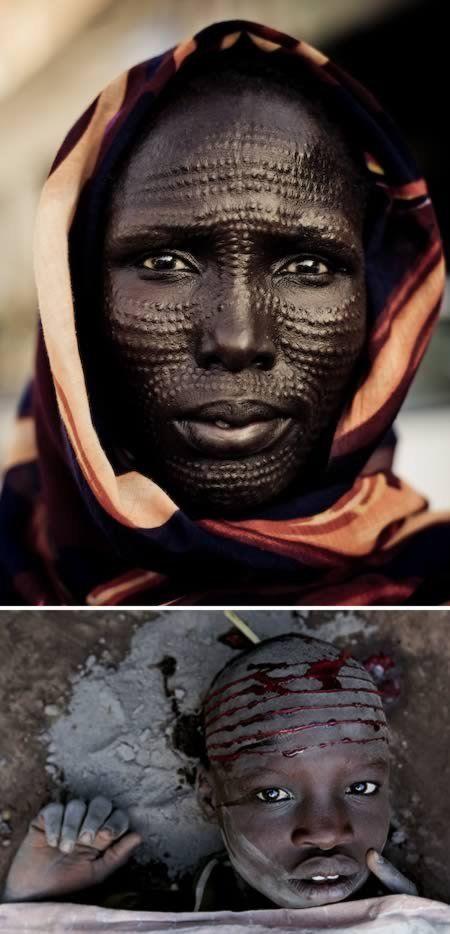 Экстремальные модификации тела в разных культурах