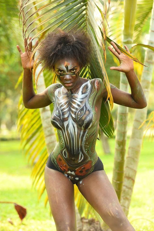 Фестиваль бодиарта прошел в Экваториальной Гвинее