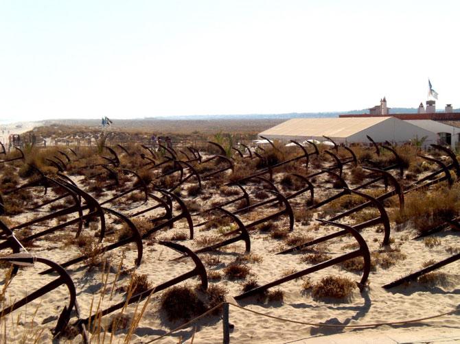 Португальское кладбище якорей