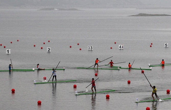 Самые тонкие лодки в мире из бамбука