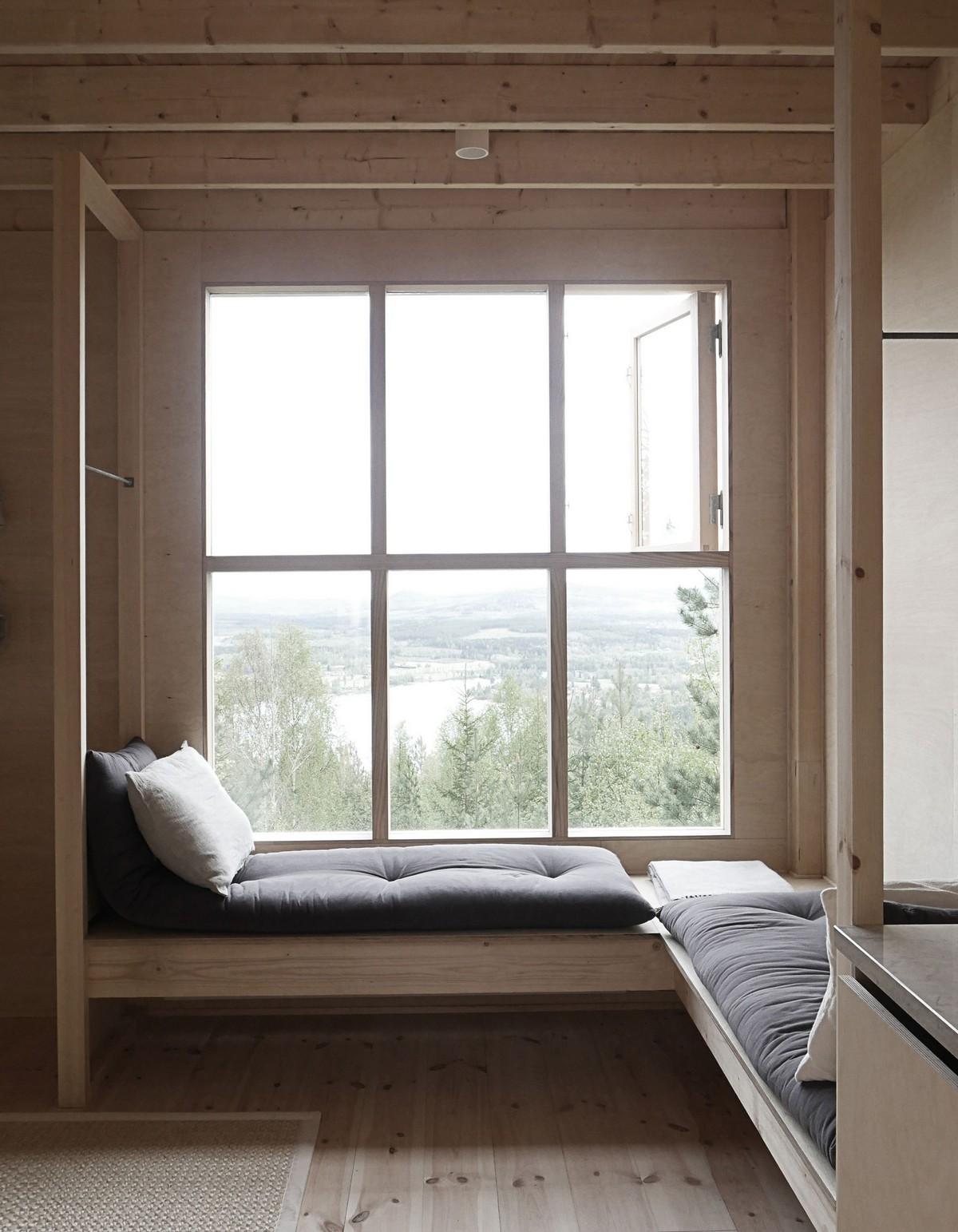 Дом-чердак для отдыха в лесу Швеции