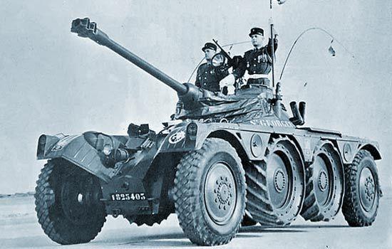 Французский разведывательный бронеавтомобиль