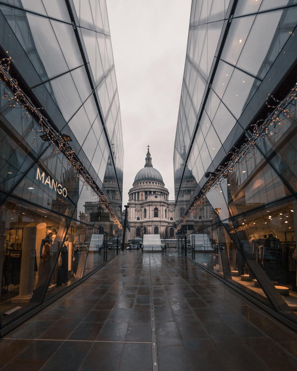 Городские пейзажи Лондона от Натана Хандса