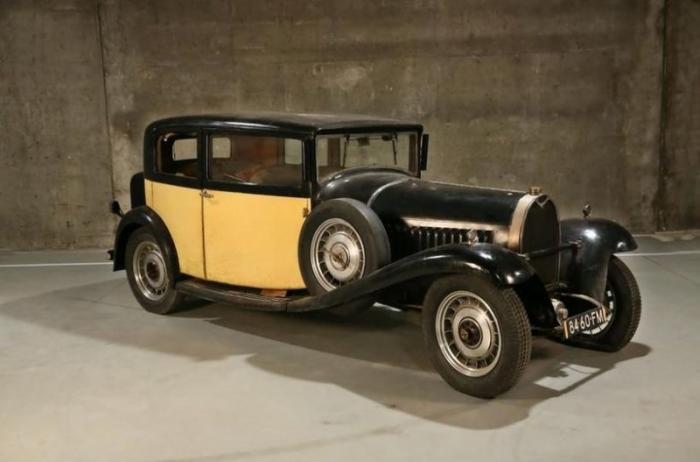 Три старинные Bugatti из бельгийского сарая