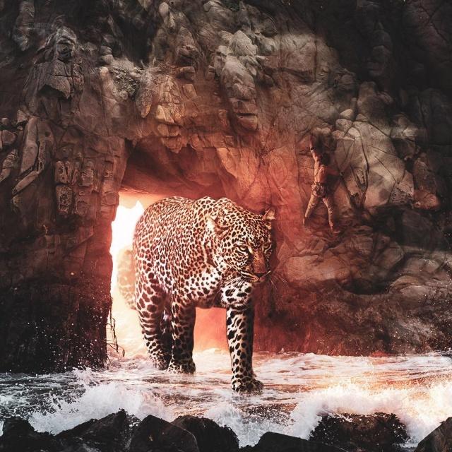 Удивительные фотоманипуляции от Серхио де Ламо