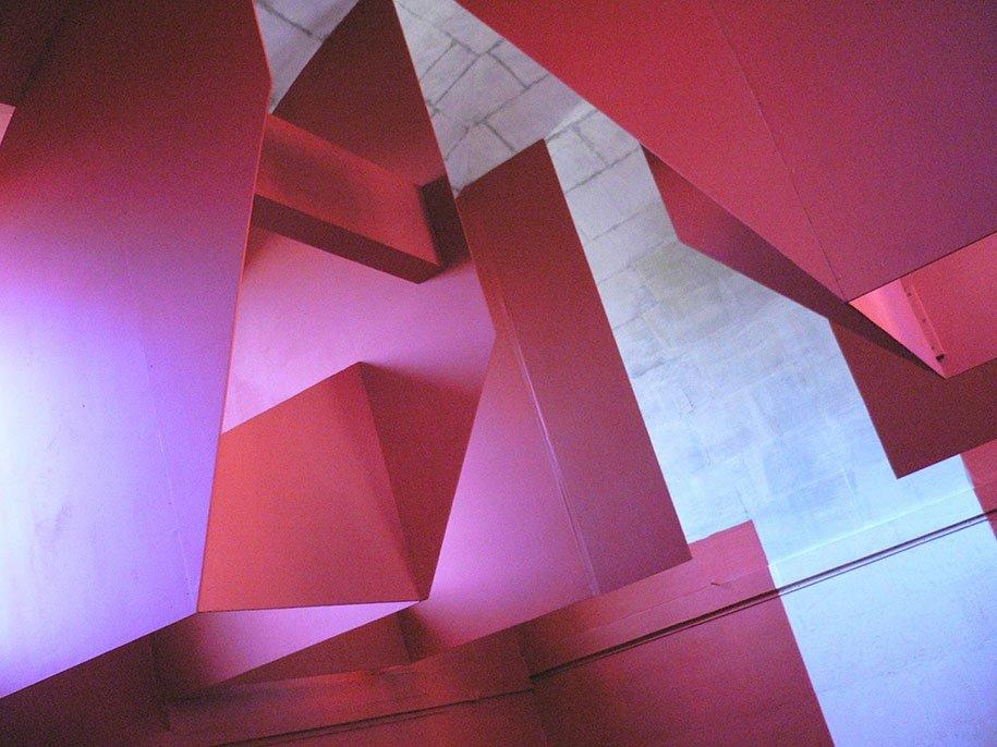 Геометрические картины, которые видны только под определённым углом