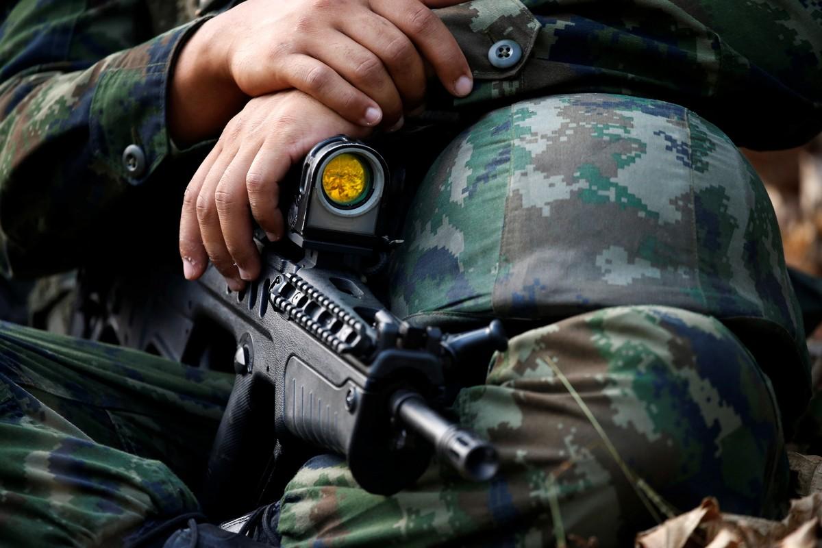Морские пехотинцы США на учениях Cobra Gold