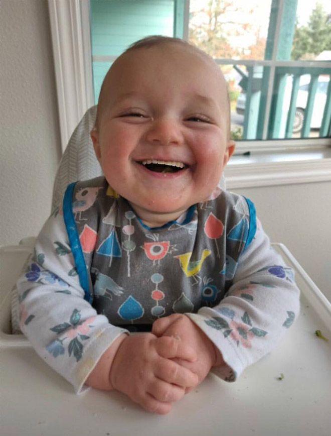 Если бы дети рождались со взрослым набором зубов