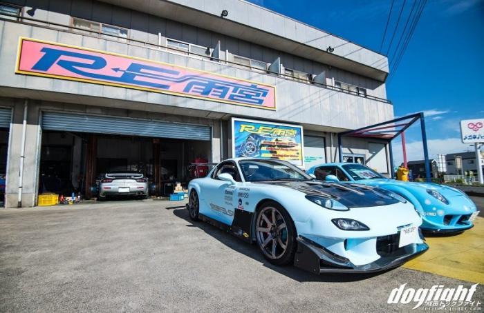 Главный офис RE Amemiya для фанатов роторных моторов