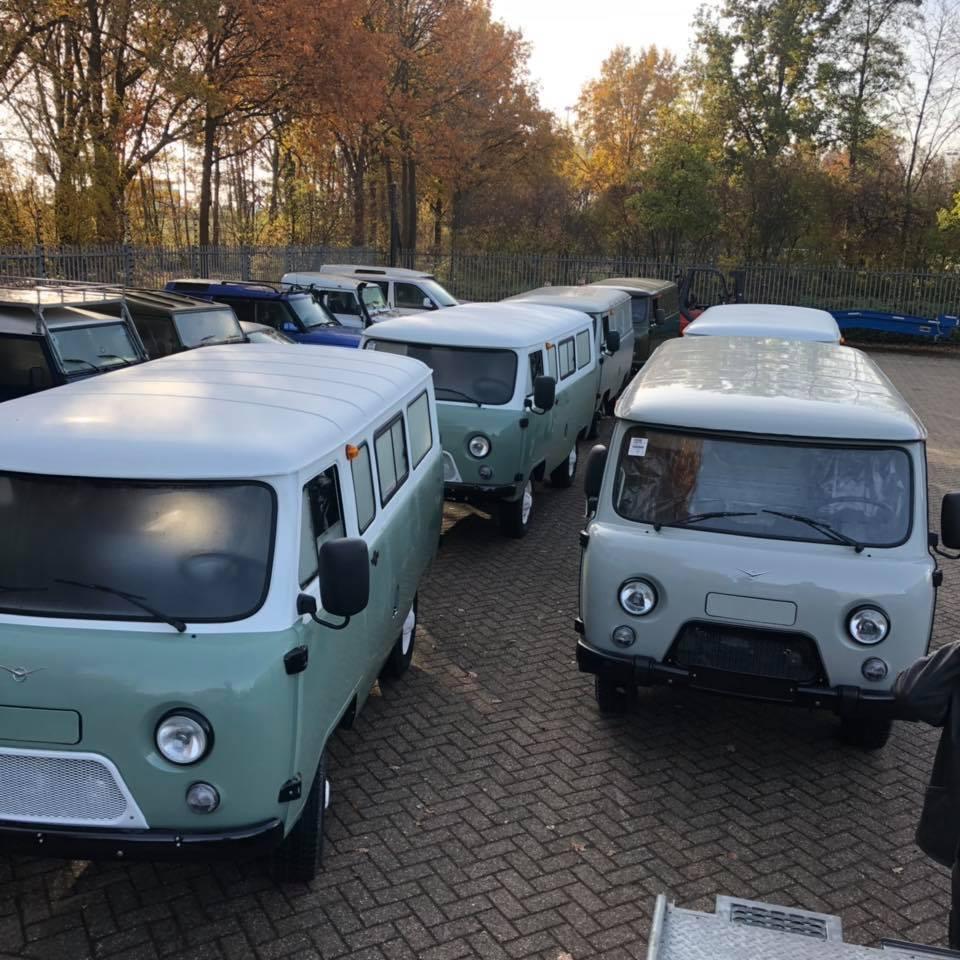 Автодом на базе новой Буханки от голландского дилера УАЗ
