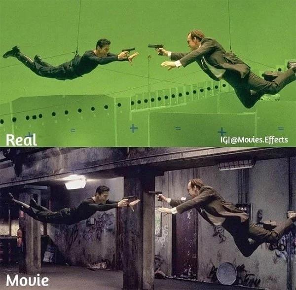 Компьютерная графика в кино и на съемочной площадке