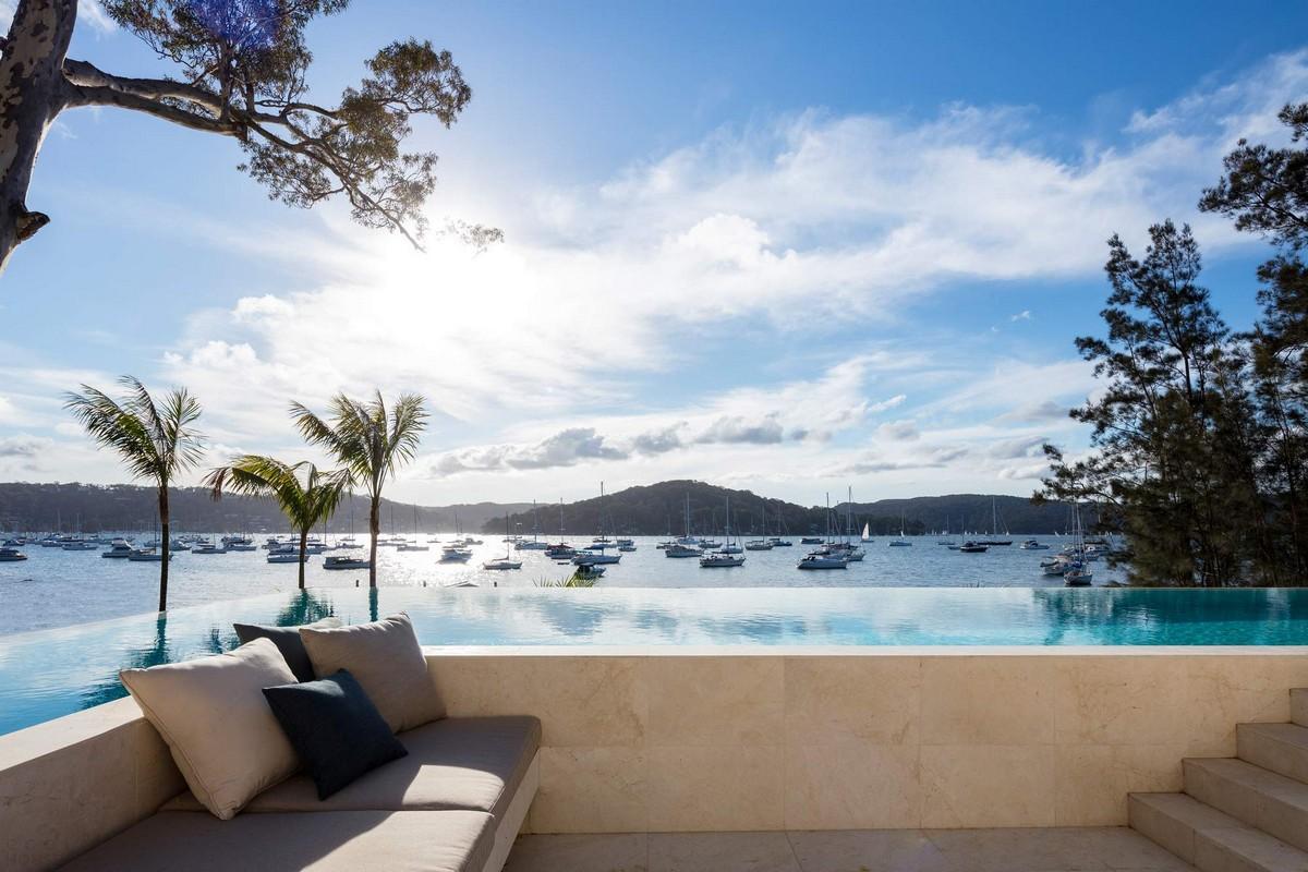 Роскошный дом на берегу океана в Австралии