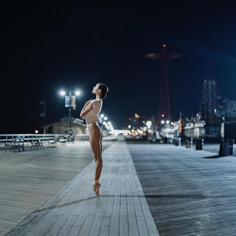 Балерины на городских улицах в фотопроекте Дэйна Шитаги