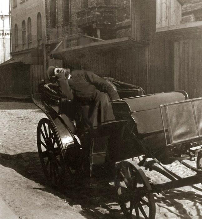 Каким был общественный транспорт в прошлом