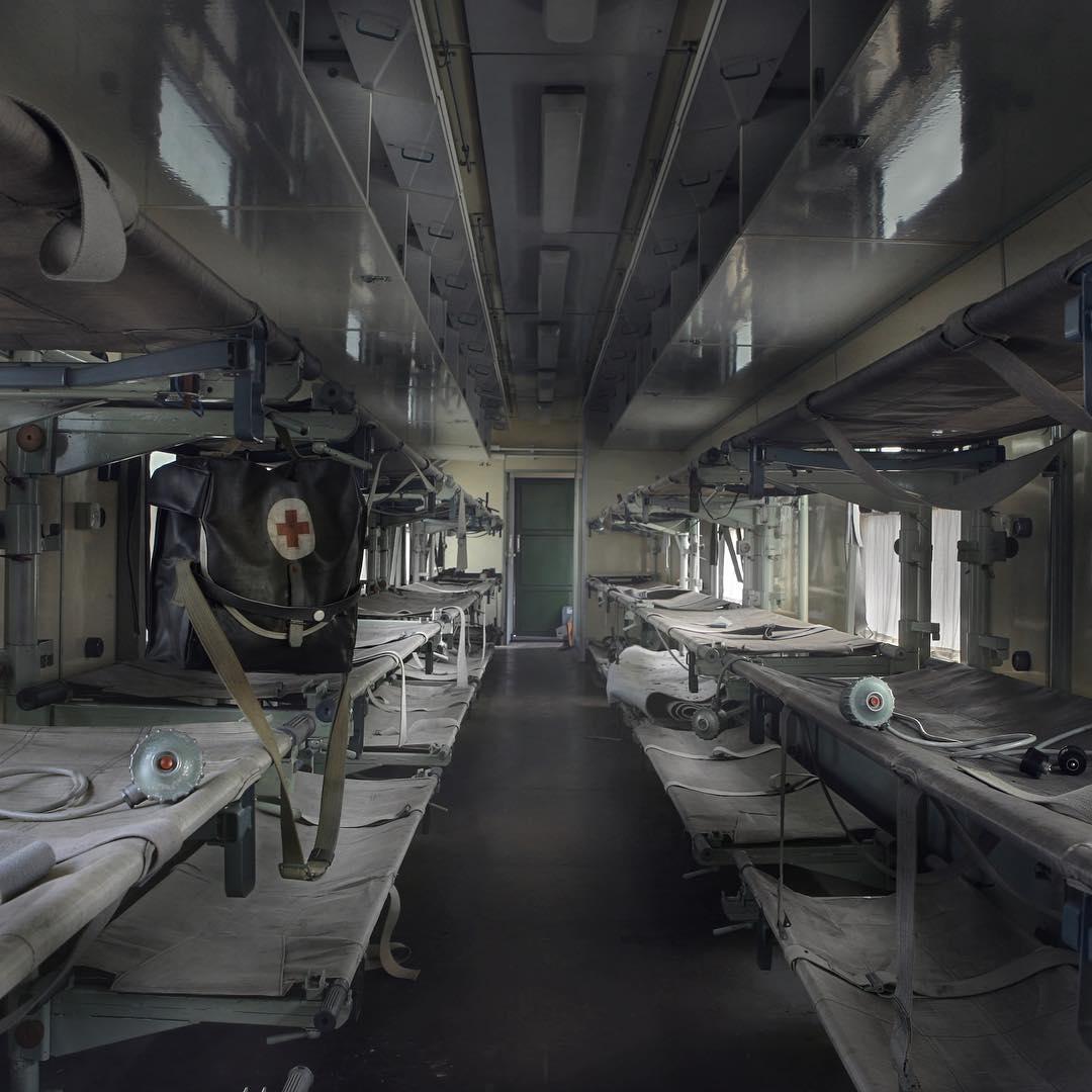 Заброшенная Европа на эффектных снимках Андре Говиа