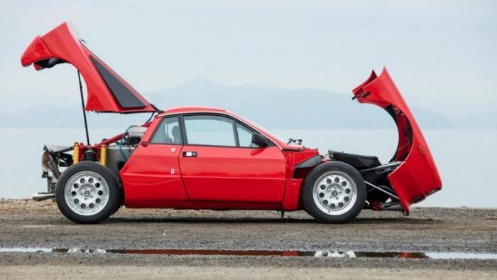 Lancia Rally 037 Stradale, построенная для чемпионата мира по ралли