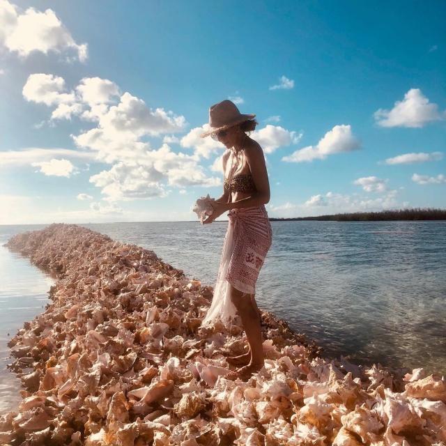 Очень необычный остров в Карибском море