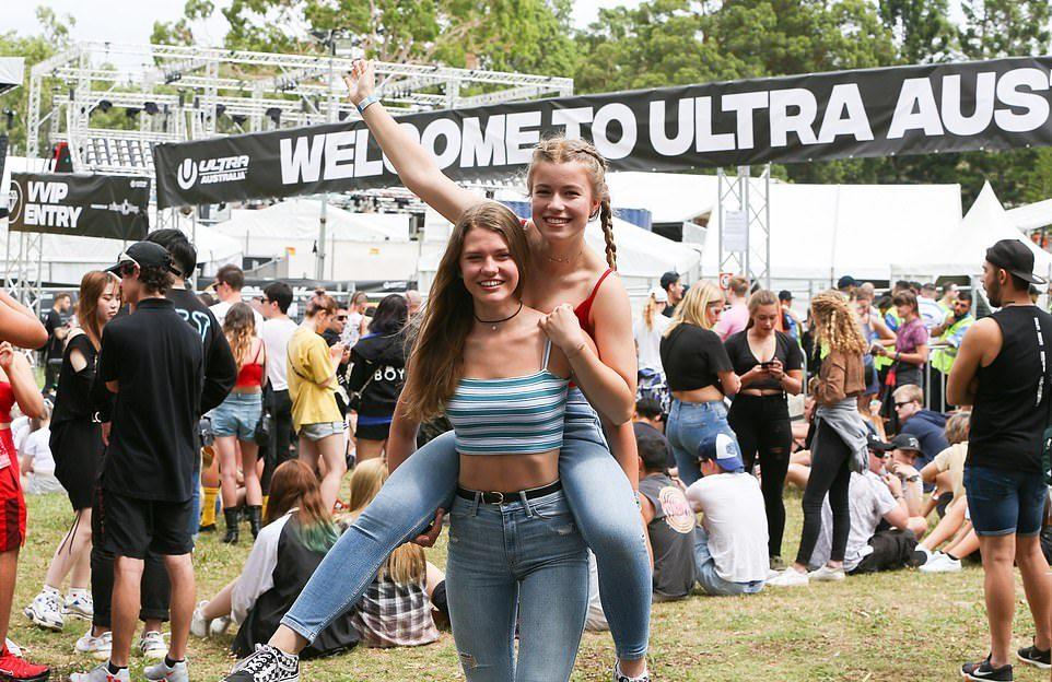 Ultra Electronic Music Festival 2019 в Сиднее