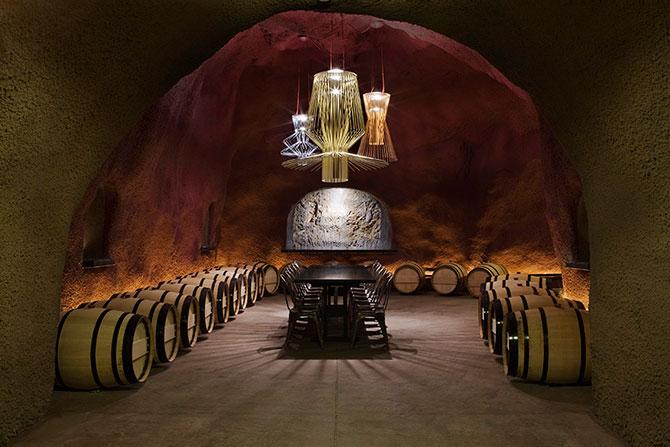 Винодельня Merus в пещерах долины Напа