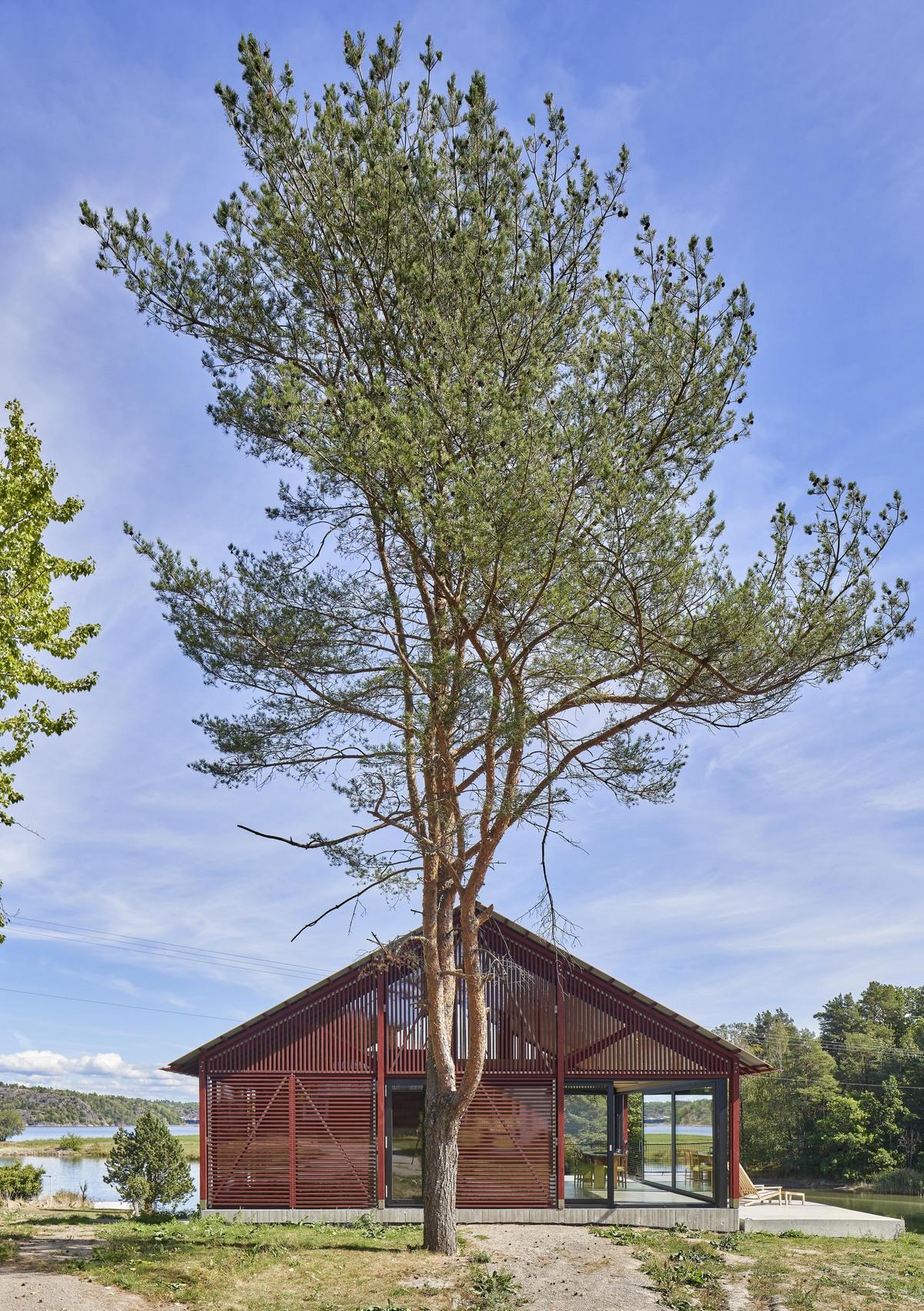 Домик из дерева и стекла в Норвегии