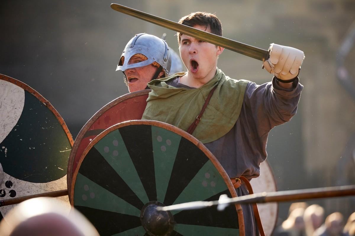 Ежегодный фестиваль викингов в Йорке