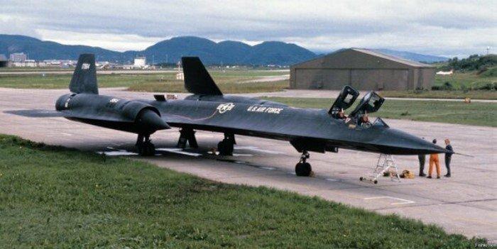 Интересные факты о знаменитом SR-71 Черный дрозд
