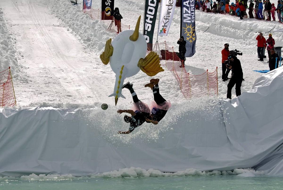 Прыгни и застынь: веселые соревнования в Ливане