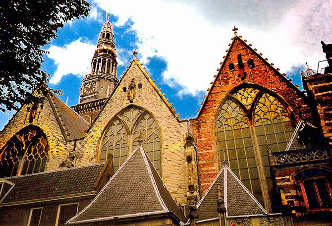 Самая старая церковь Амстердама