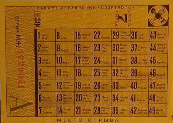 В чем секрет успеха советского Спортлото