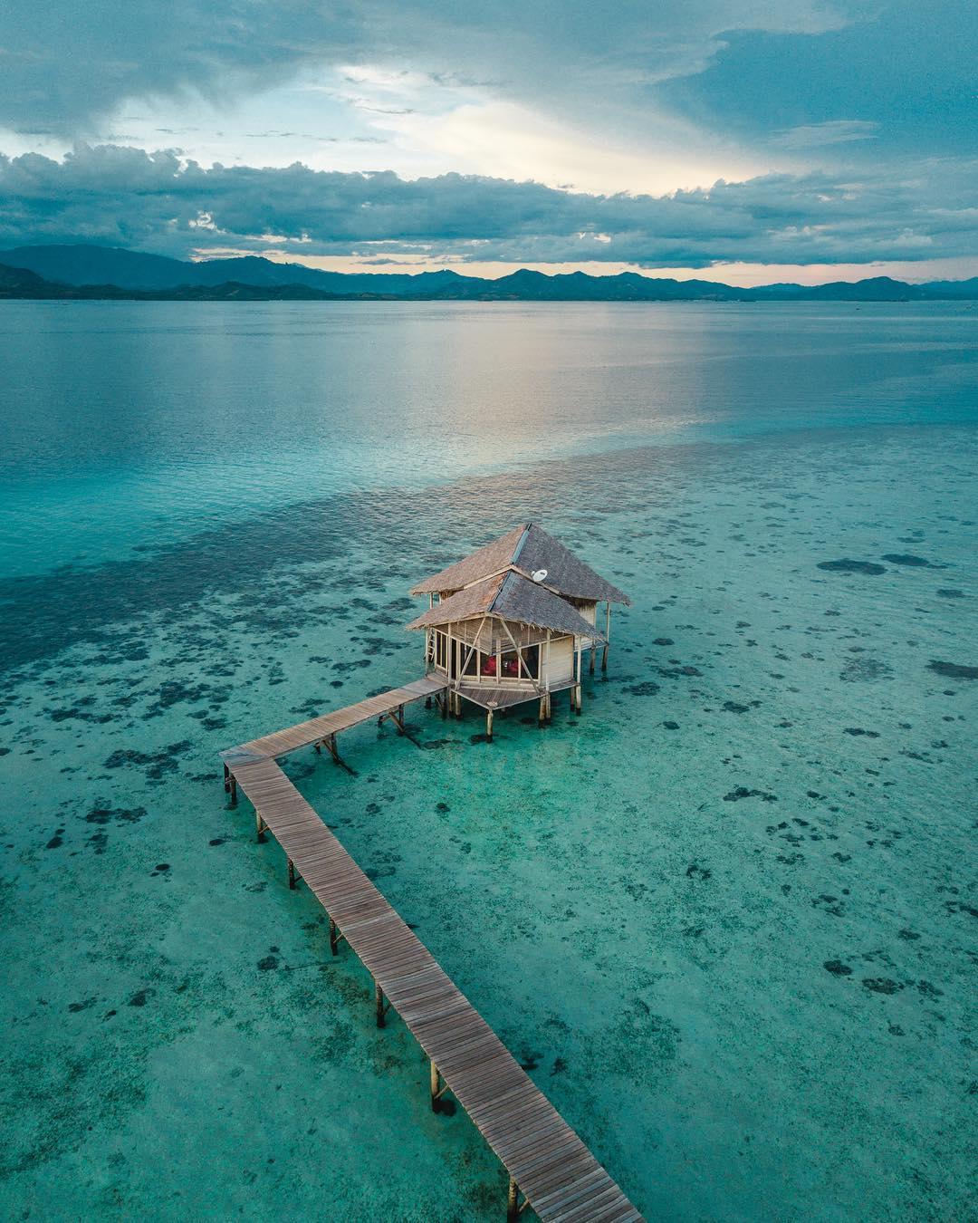 Индонезия с высоты на аэрофотоснимках Сута Рахади