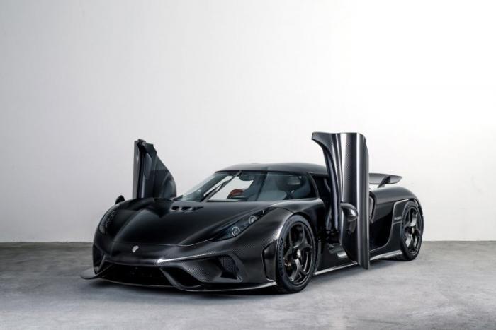Koenigsegg Naked Carbon: гиперкар с кузовом из углеродного волокна