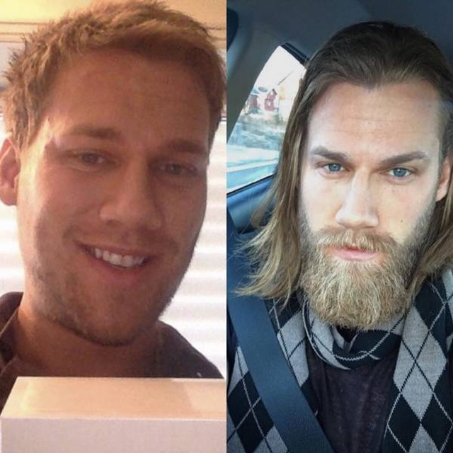 Насколько борода меняет внешний вид мужчины