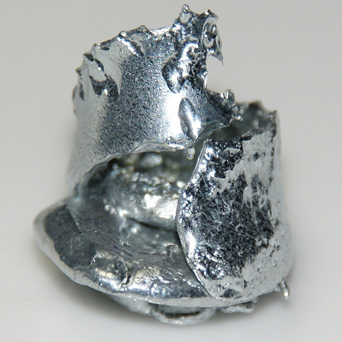 Галлий – редкий металл, который тает в руках