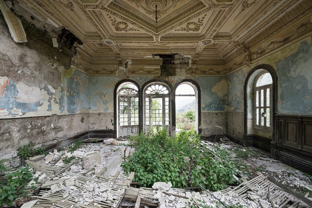 Красота заброшенных мест на снимках Реджинальда Ван де Вельде