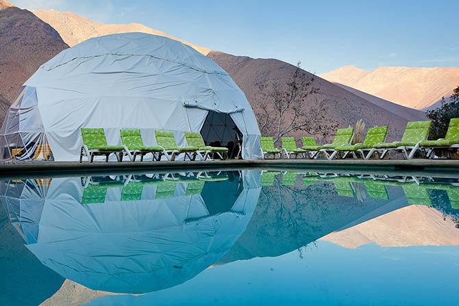 Отель для любителей астрономии в Чили