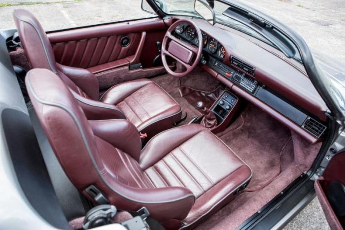 Porsche 911 Carrera Speedster 1989 - мечта коллекционера