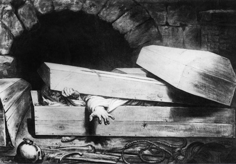 Жуткие истории о людях, которые были похоронены заживо