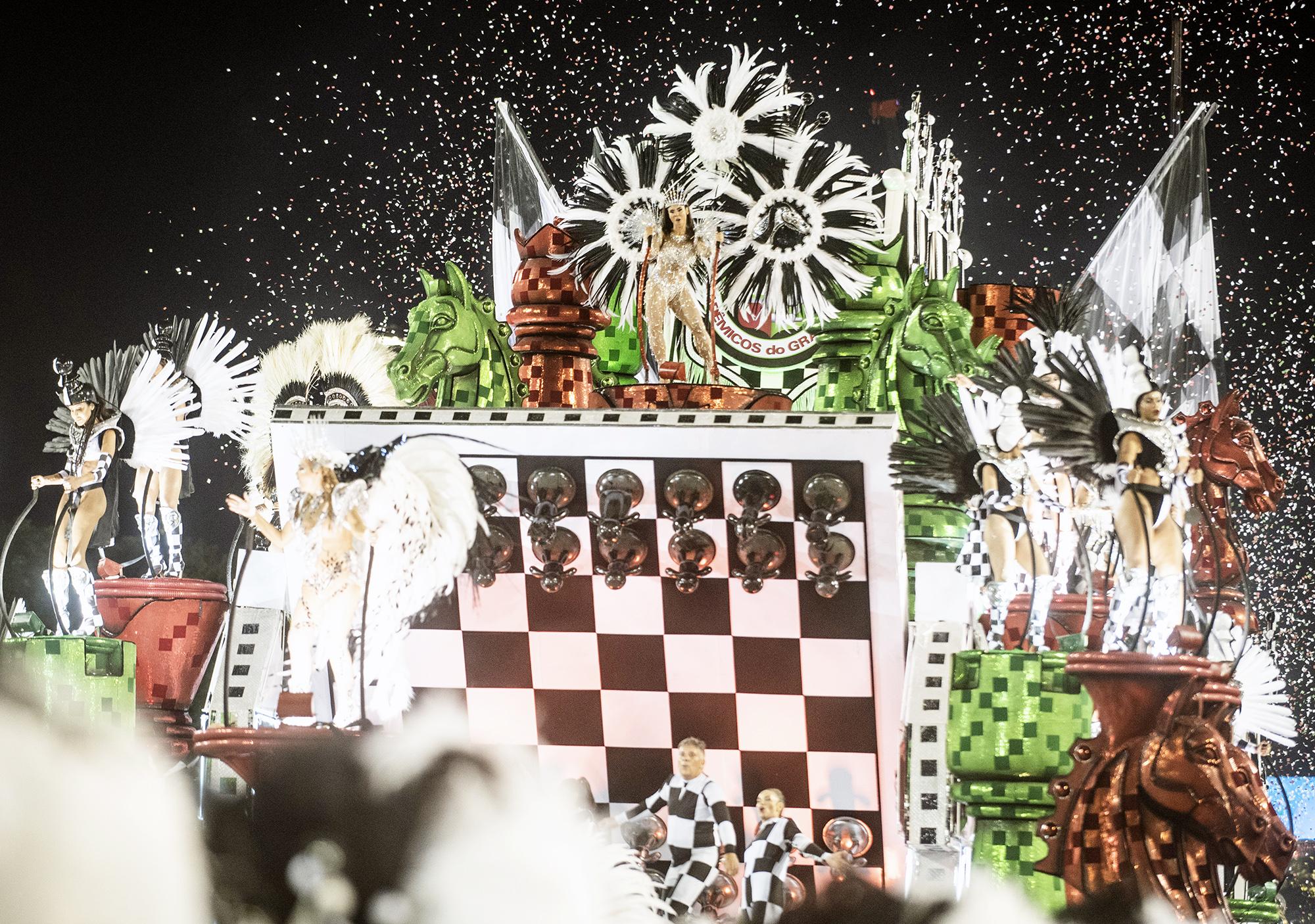 Первые дни карнавала в Рио 2019