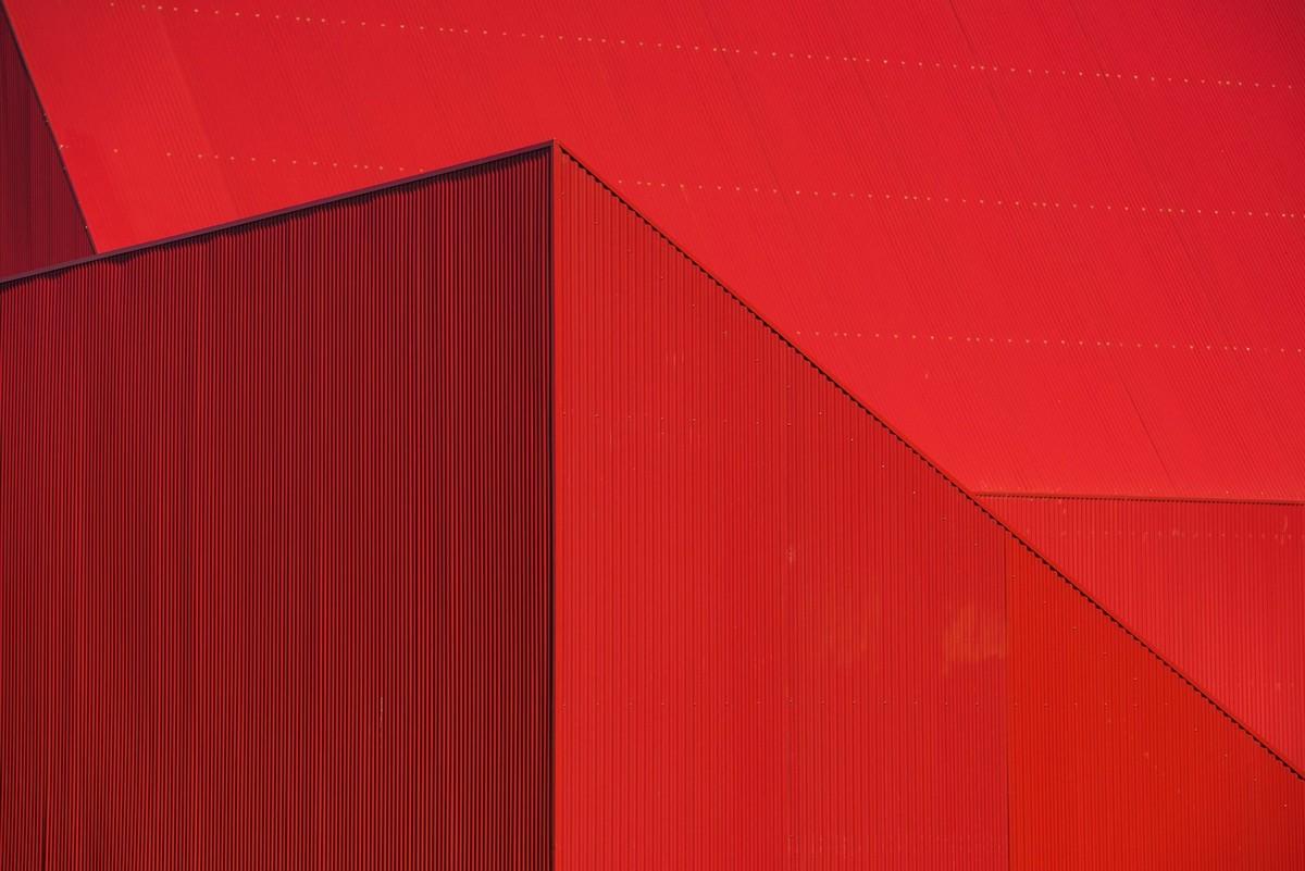 Очень красный дом в Португалии